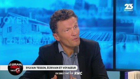 Sylvain Tesson : 'les nouvelles technologies ne nous font pas progresser, bien au contraire !' #GGRMC https://t.co/u3pSanq5ho