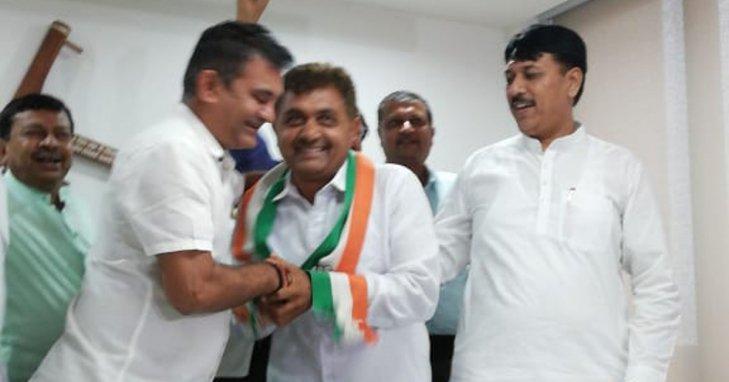 Former Jasdan MLA Bholabhai Gohel rejoins Congress