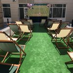 Loving the tennis set up outside our Covent Garden office #wimbledon2018