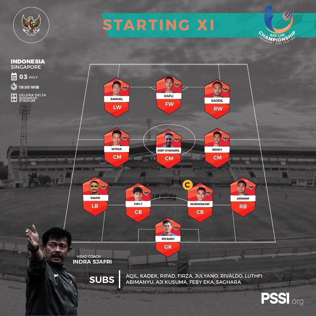 starting xi indonesia