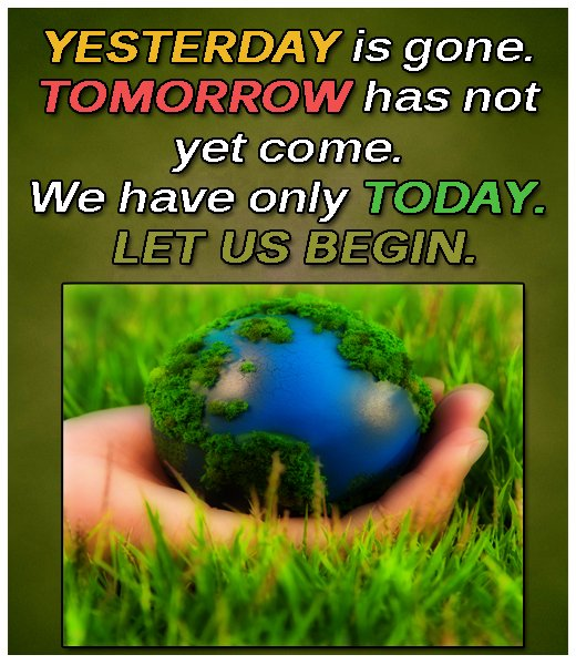 #Yesterday is gone. #Tomorrow has not yet come. We have only today. let us begin. #wisdomquotes #beginanewlife #yesterdayisgonequotes #inspiringlifethought #livelifetoday #sayingabouttomorrow #lessonlearned #changeyourlife #keytohappinesspic.twitter.com/5m0WO0AMuD