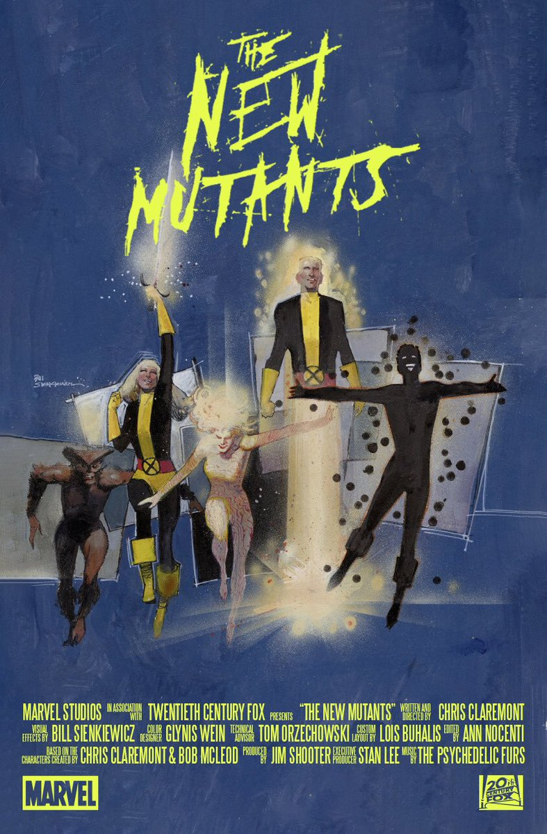 Image result for magik new mutants 1980s