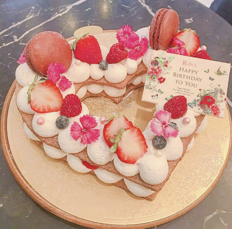 世界でたった一つのオーダーケーキを作ってもらえる、東京都表参道にある「ドルチェマリリッサ」✨
