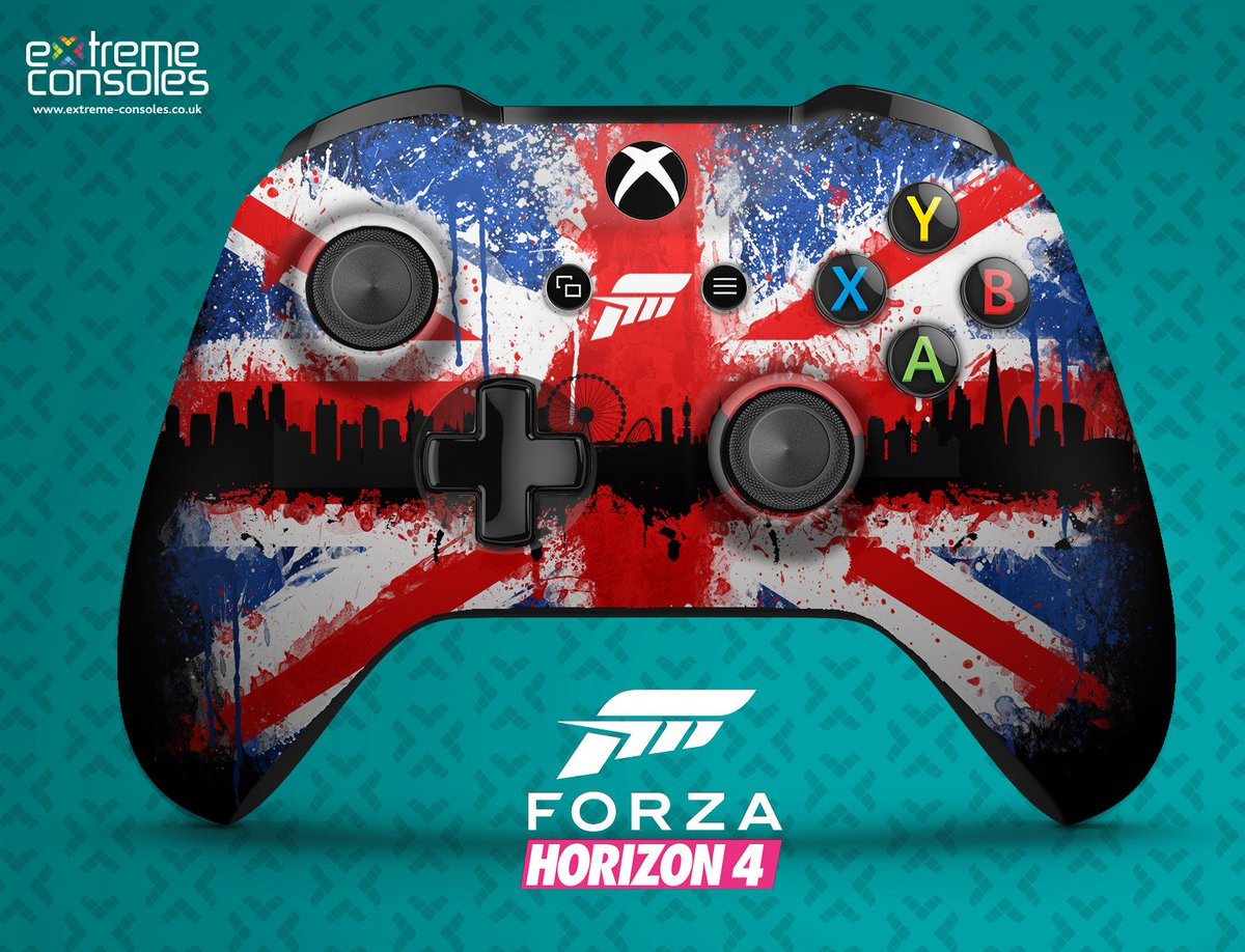 racing is life custom xbox controller forza horizon 4. Black Bedroom Furniture Sets. Home Design Ideas
