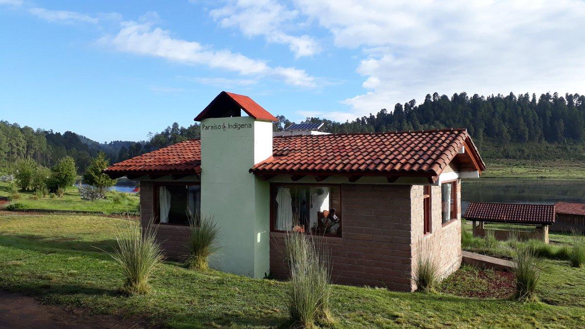 Cabaña en el parque Corral de Piedra.