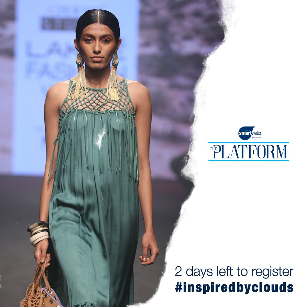 Lakme Fashion Week On Twitter If You Ve Been Waiting To Take Your Label To The Next Level Here S Your Chance The Platform Presented By Smartwaterind Will Give Emerging Designers A Chance To