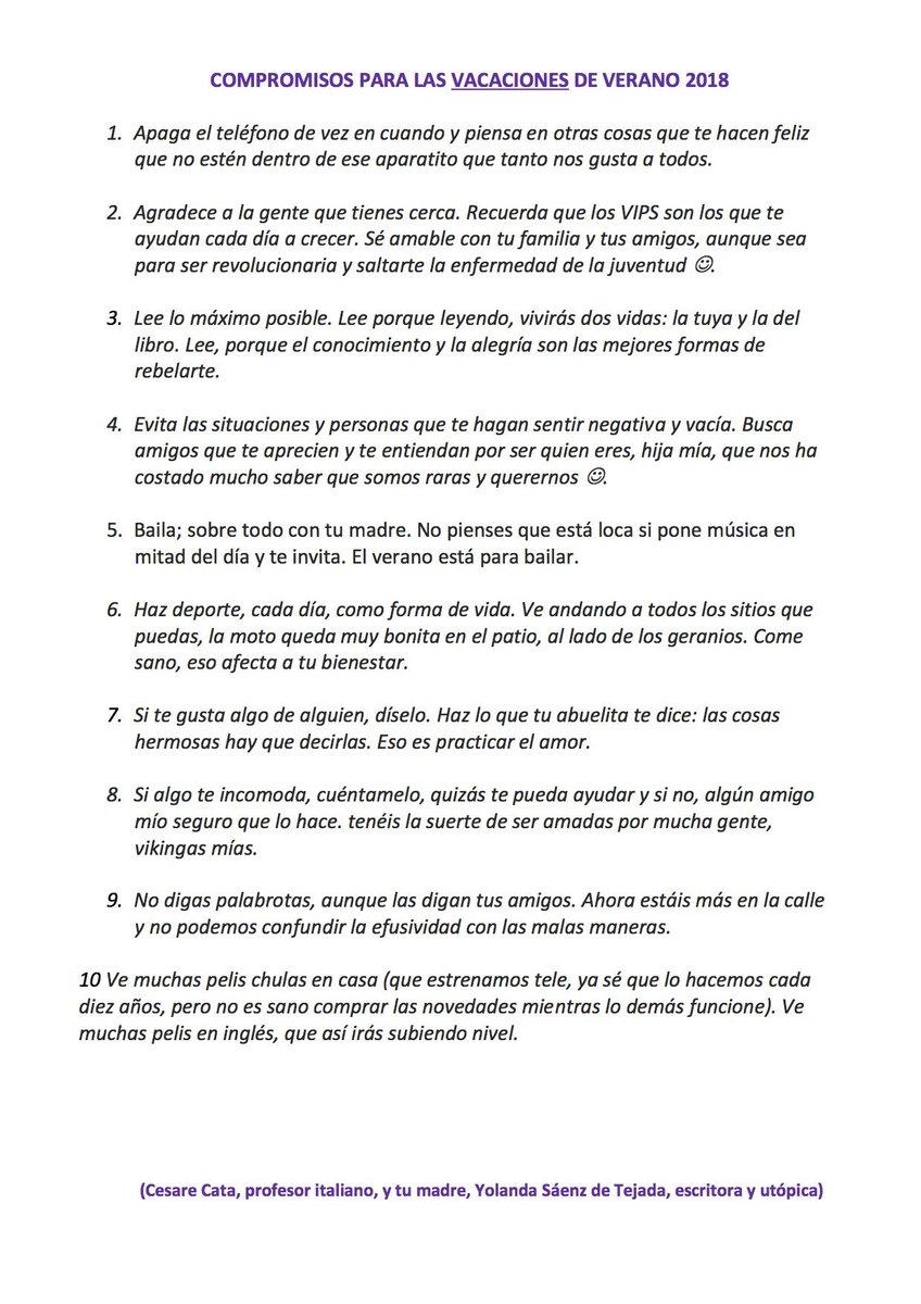 Yolanda Saenz De Tej On Twitter Antes Le Llamaba Deberes