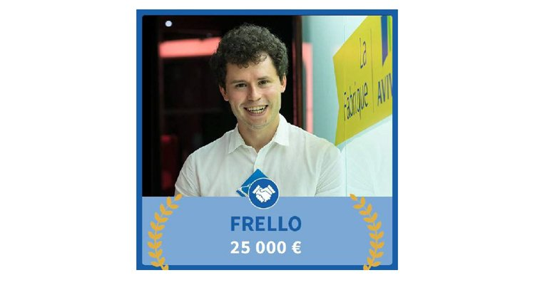 Frello, #startup incubée à #Rouen, remporte 25000€ au concours de @LaFabriqueAviva 🏅🍾 Article @Normandinamik : https://t.co/lElRF2T3mT https://t.co/WCgSslBsVU