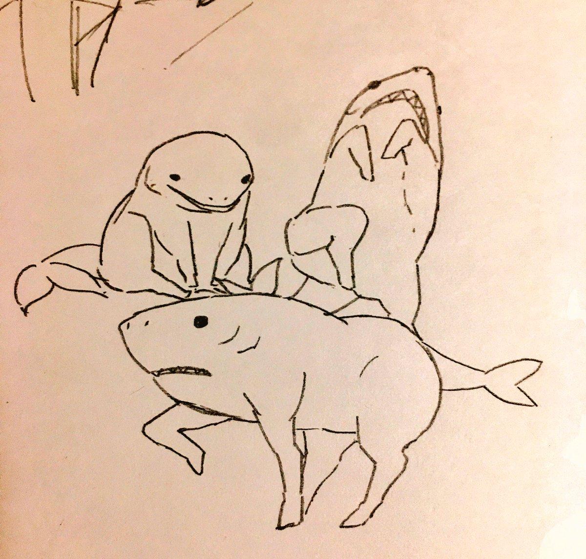 サメウマについて考えてた