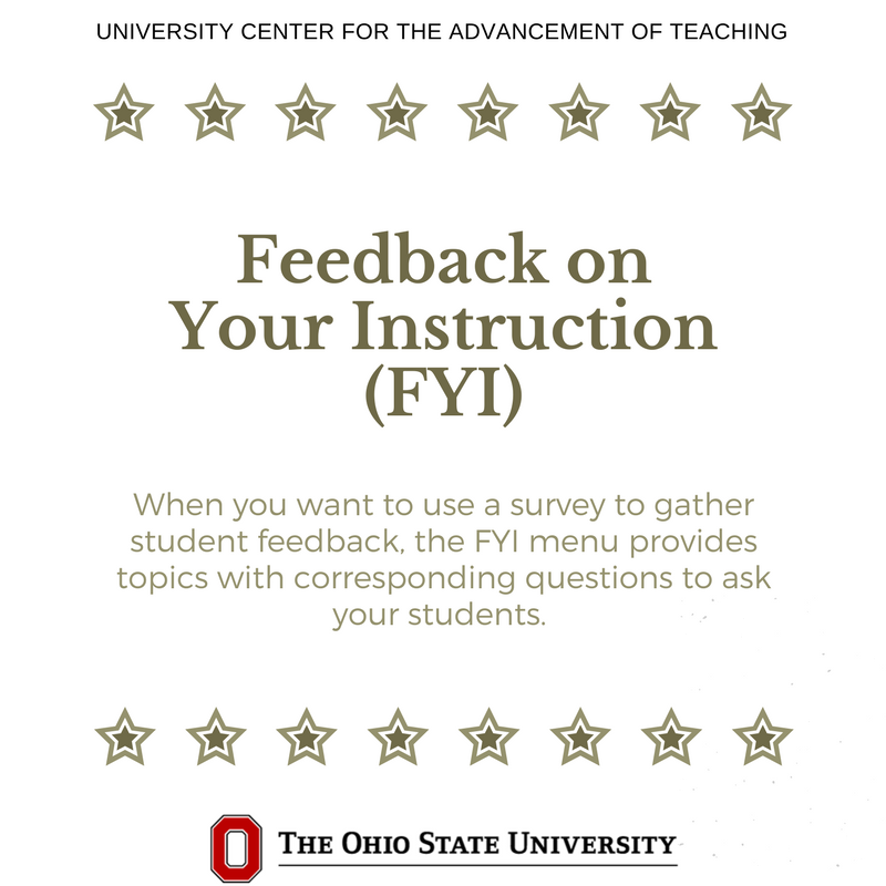 Want to get feedback from students that SEIs do not cover? Create your own feedback survey with our generator: https://t.co/2Lt884372n