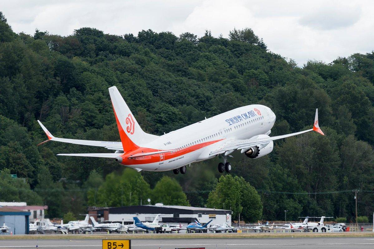 Resultado de imagen para Okay Airways  Boeing 737 max