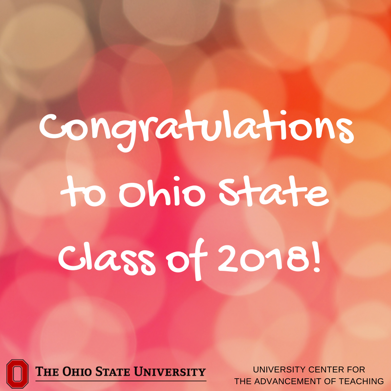 Congratulations, Class of 2018! Wishing you all the best in your new chapters.