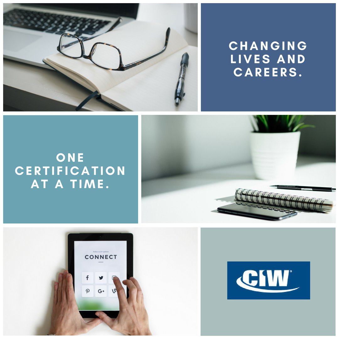 Ciw Certification On Twitter One Opportunity Could Change Your