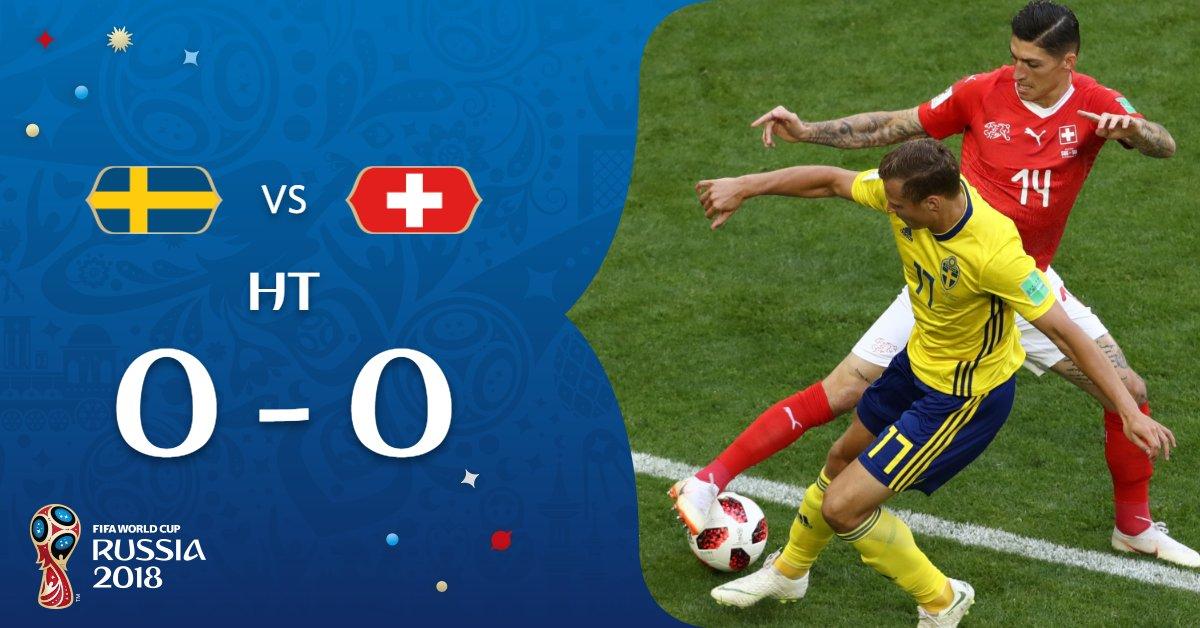 Babak pertama swedia vs swiss