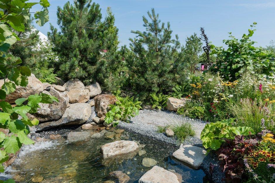 #RHSHampton.  Https://www.rhs.org.uk/shows Events/rhs Hampton Court Palace Flower Show/ Gardens/2018/great Gardens Of The Usa The Oregon Garden U2026