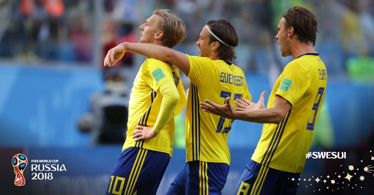 gooal! swedia 1 swiss 0