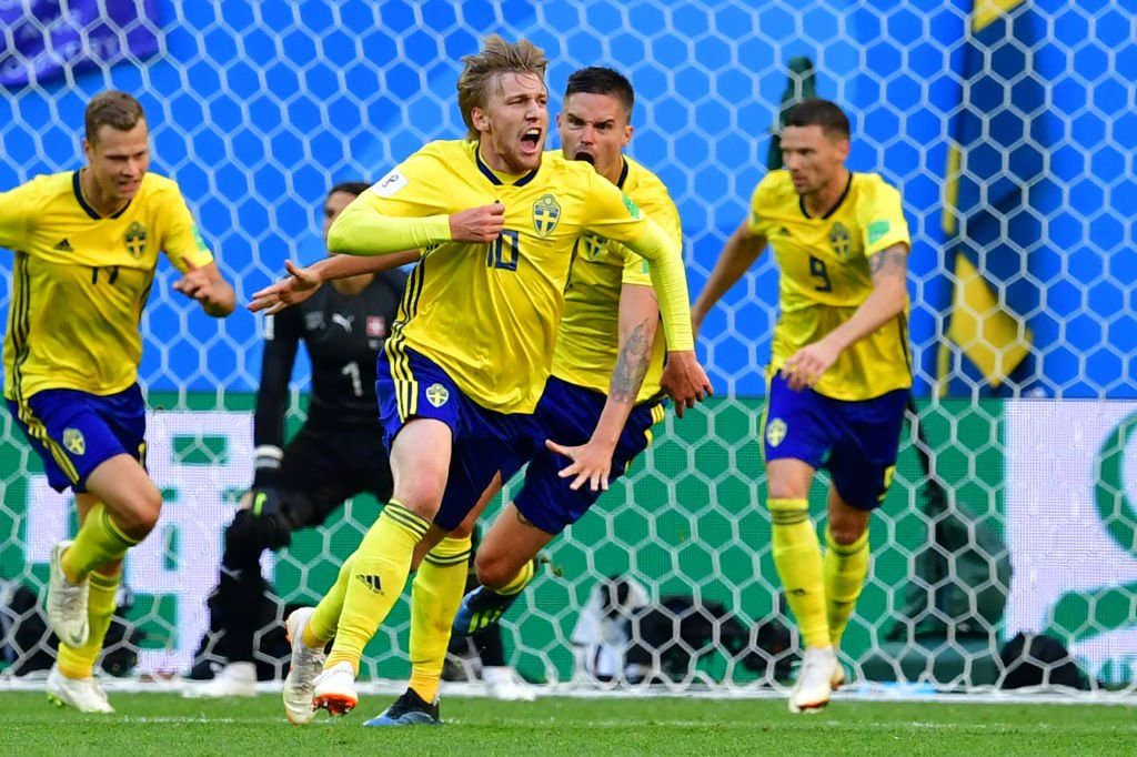 Suecia avanza a los Cuartos de Final