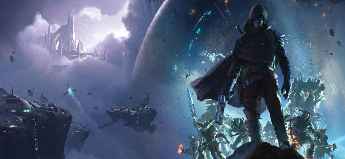 August Cover Revealed – Destiny 2: Forsaken https://t.co/8ELk30vo9w