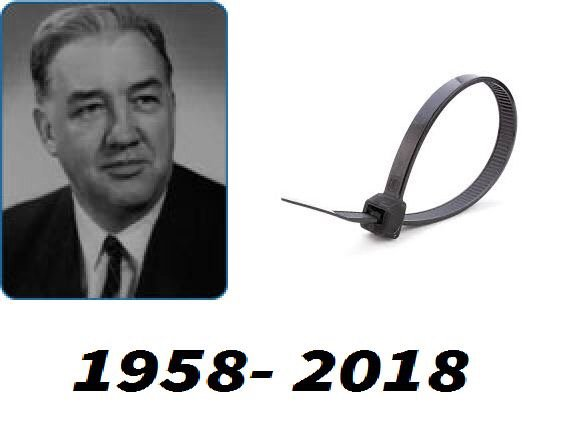 """Q Technical Services on Twitter: """"On 24th of June back in the 1958 Maurus C.  Logan invented maybe the most amazing invention of all times, the CABLE TIE  ( ty-rap). Today this"""