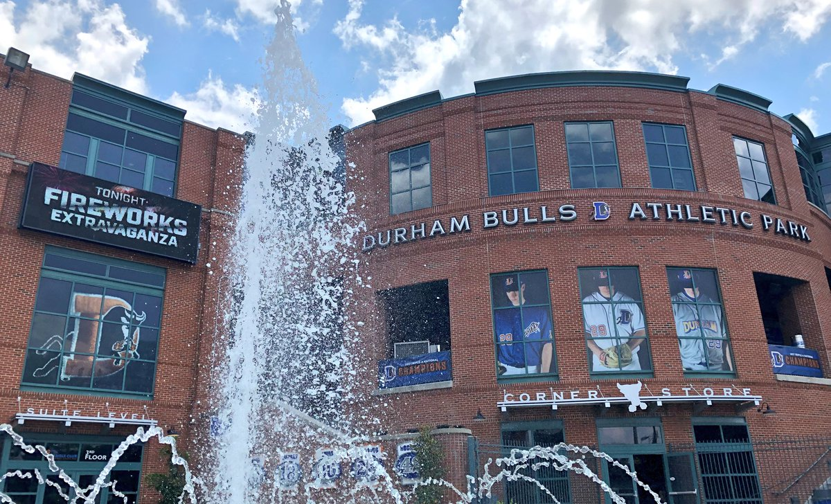Durham Bulls On Twitter A Beautiful Summer Day In The Bull City