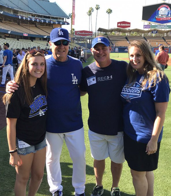 Happy Belated Birthday to Pitching Coach Rick Honeycutt!  Thanks for your friendship!