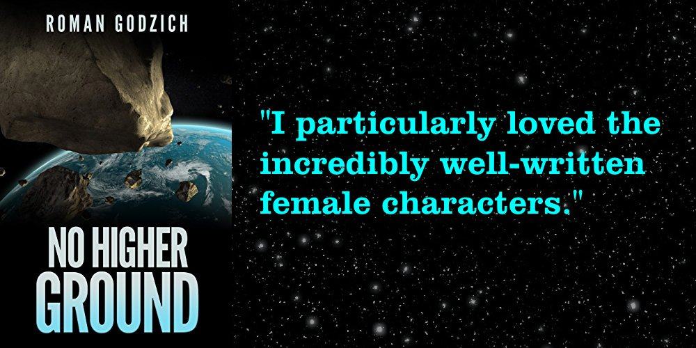 """""""I particularly loved the incredibly well-written female characters."""" https://amzn.to/2IPXjM2   #scifi"""