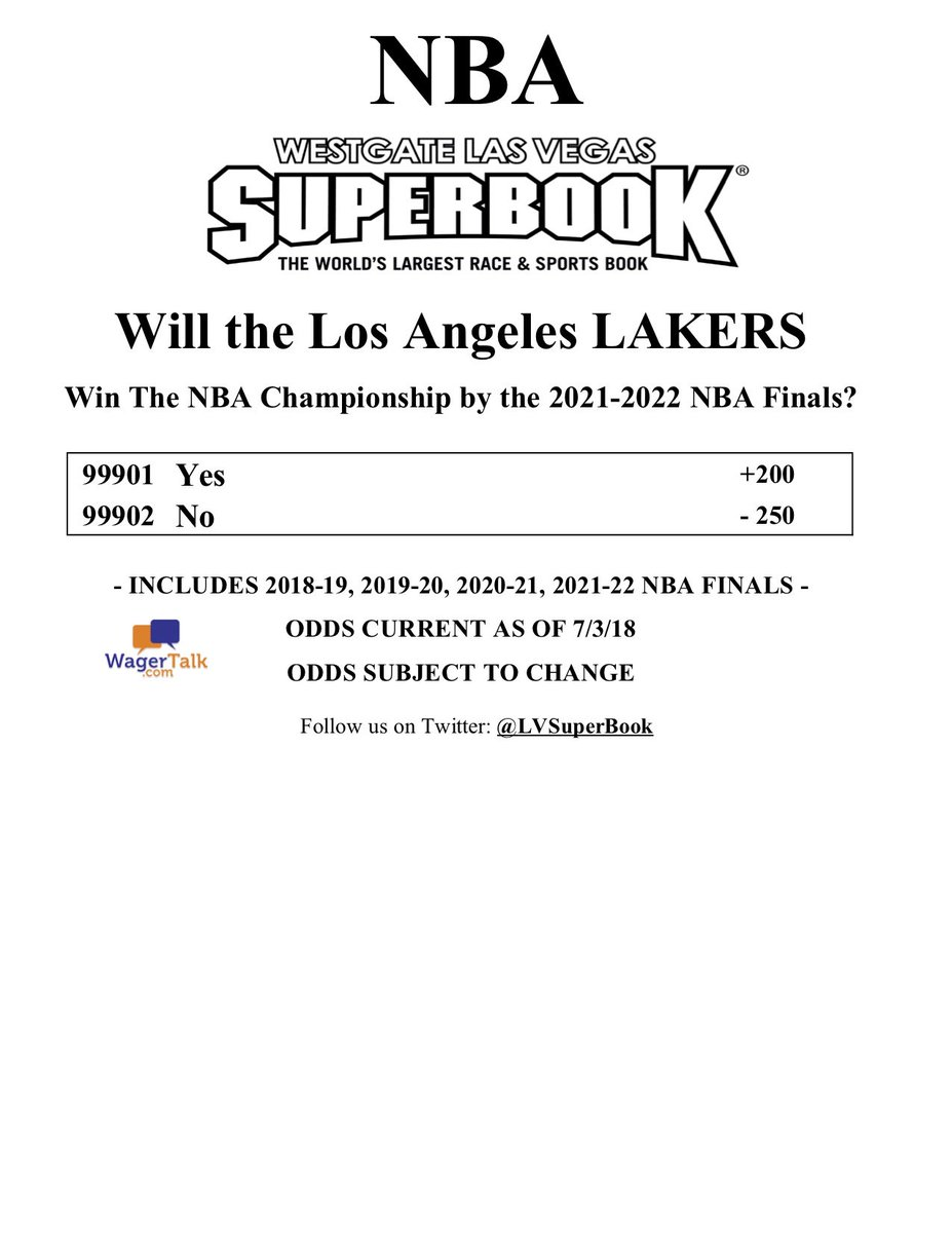 Marco D Angelo On Twitter Will The Los Angeles Lakers Win