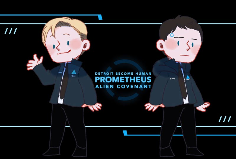 because androids so why not... #DetroitBecomeHuman