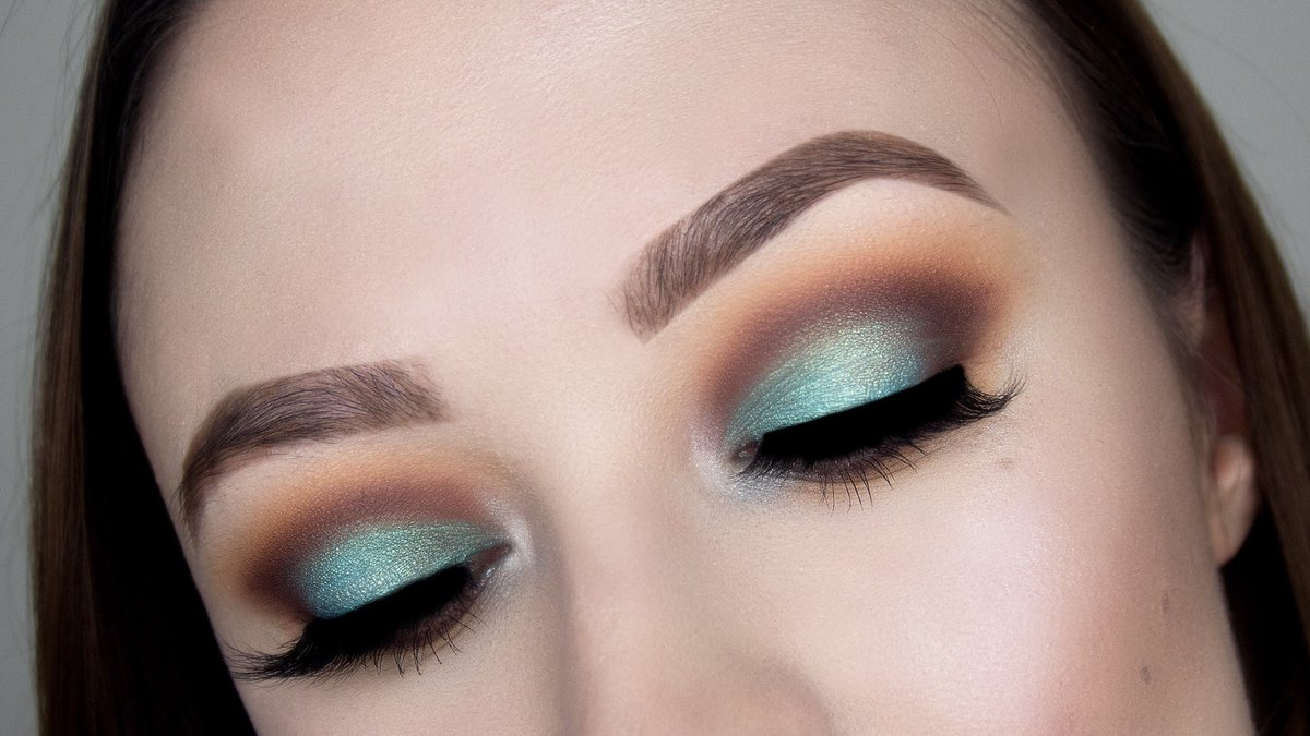 Marie Appelt Makeup On Twitter Turquoise Smokey Eye Makeup