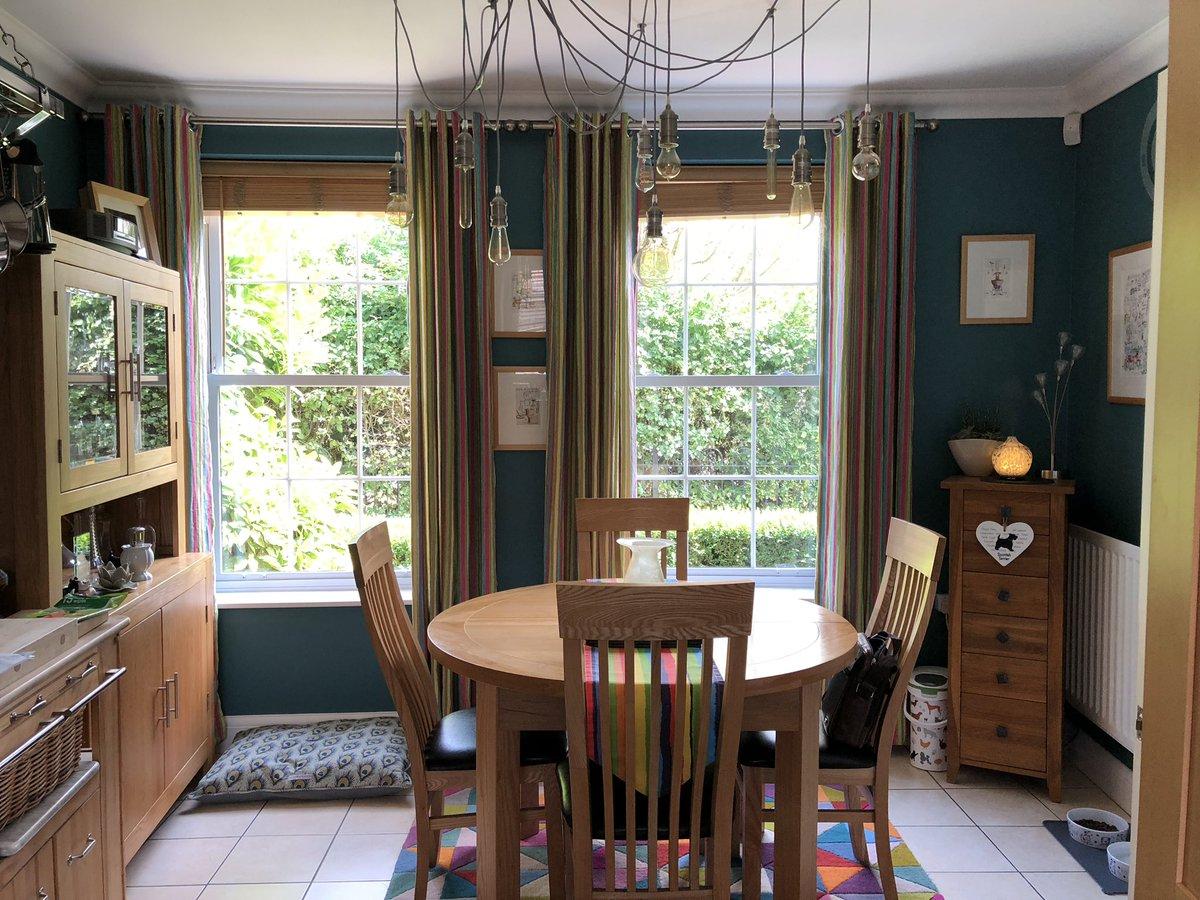 Tchl Interiors Ltd Auf Twitter Kitchen Diner Painted In Dulux Teal