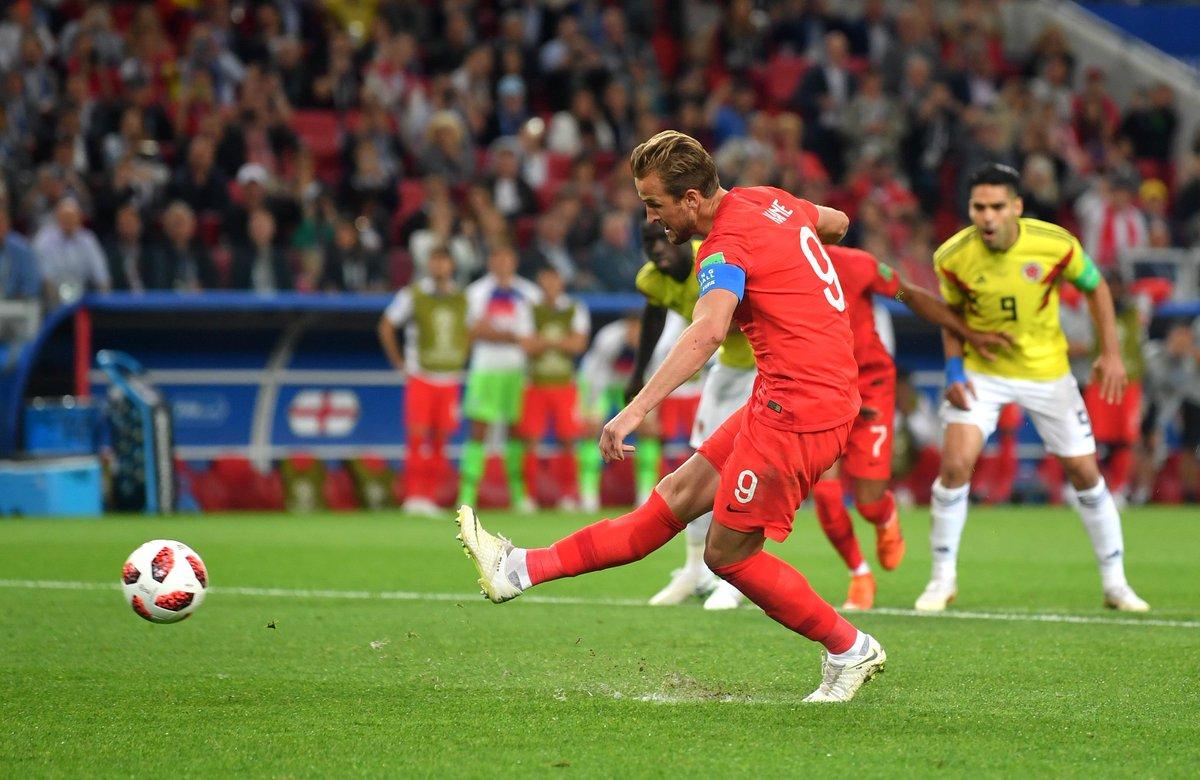 هدف إنجلترا في مرمى كولومبيا