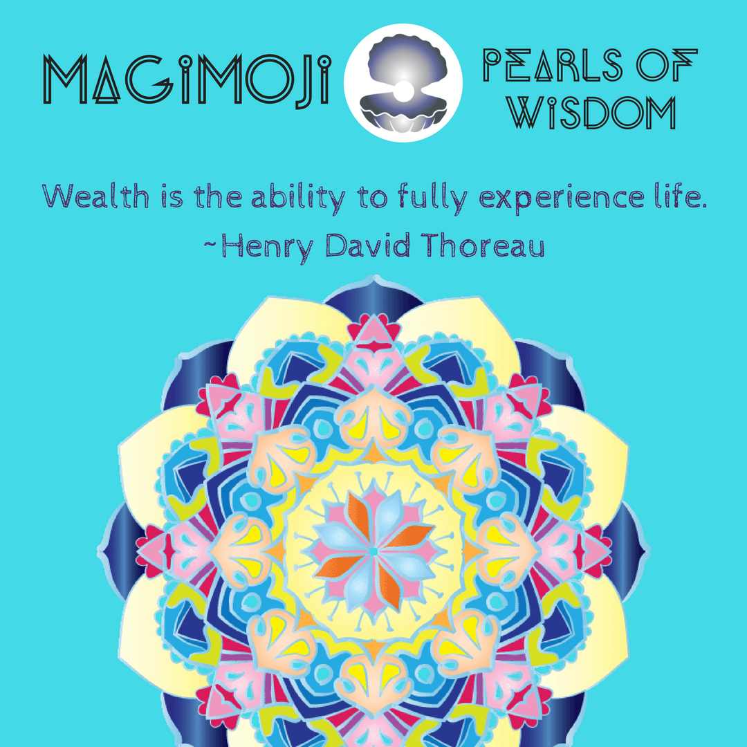 have you fully experienced the wealth of all the areas of your life ? #tuesdaythoughts #mind #body #soul #mandalas #henrydavidthoreu #emojis #lovelanguage https://t.co/qSNXfIlVEX