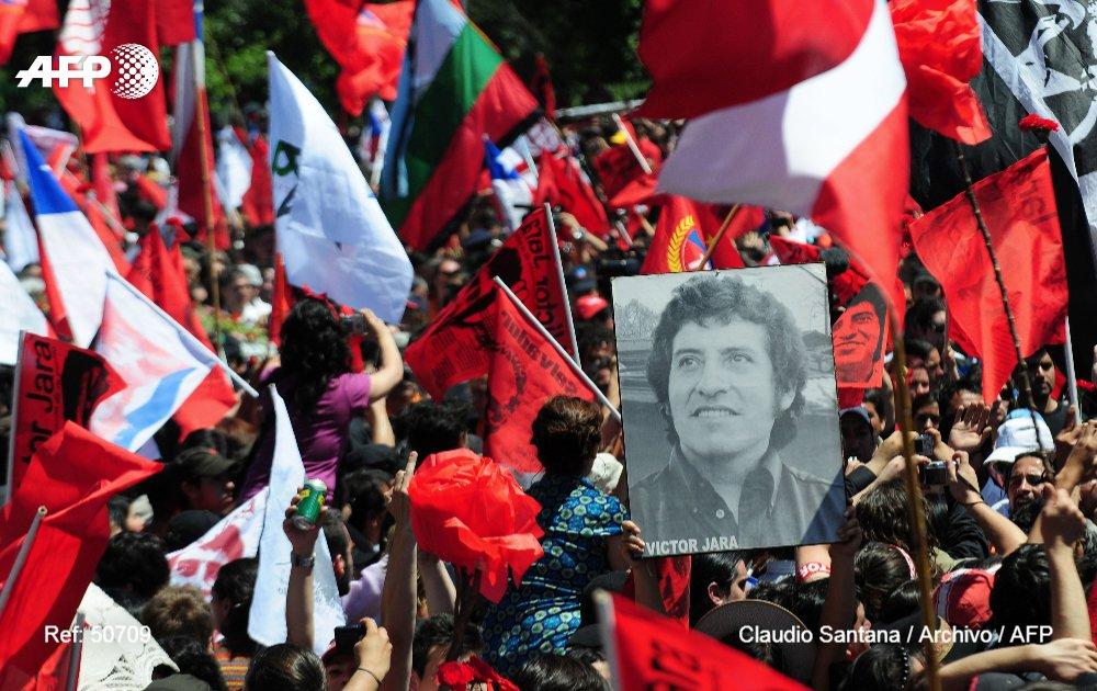 #ÚLTIMAHORA Un juez chileno condena a nueve exmilitares por la muerte del cantautor Víctor Jara en 1973 (oficial) #AFP