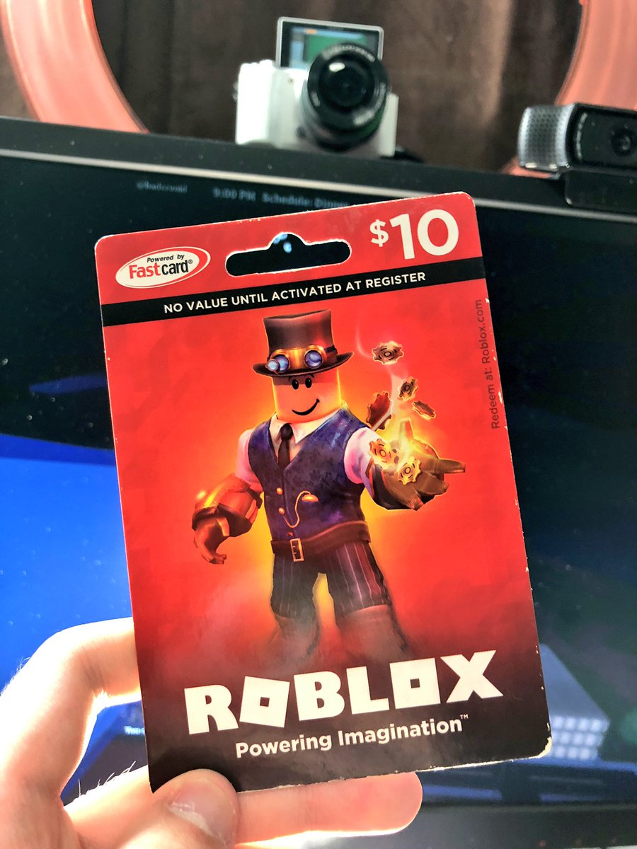 Kreekcraft On Twitter 10 Roblox Robux Card Giveaway All You