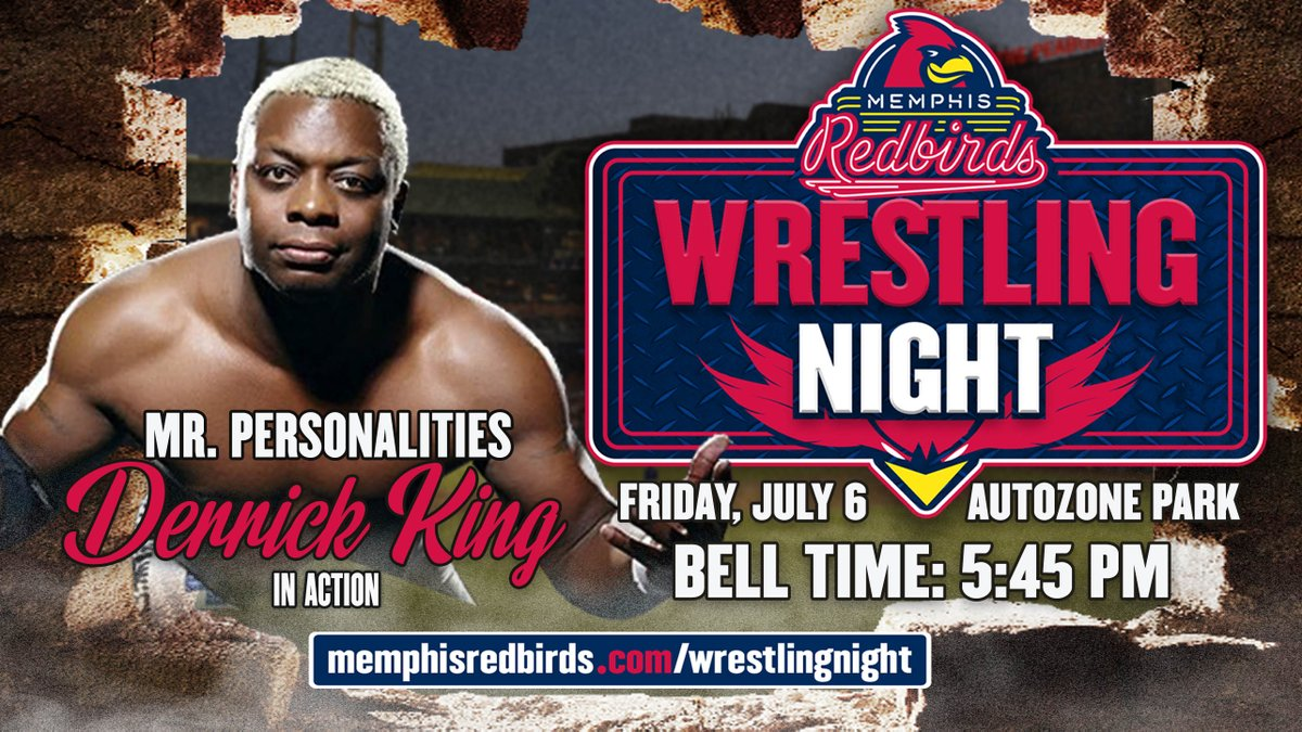 Memphis Redbirds On Twitter You Can See Derricking1 Wrestle In