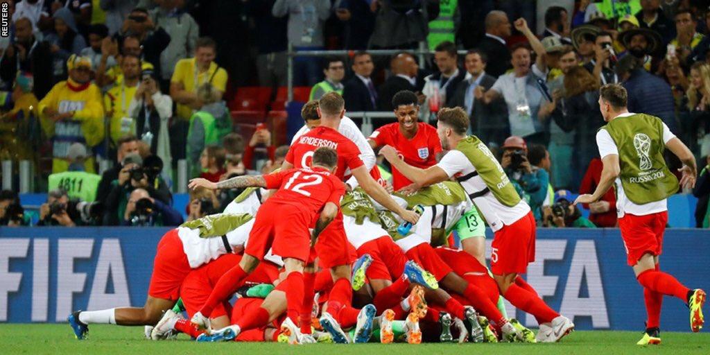 Kết quả Colombia 1-1 Anh (pen 3-4): Vỡ òa vì Eric Dier