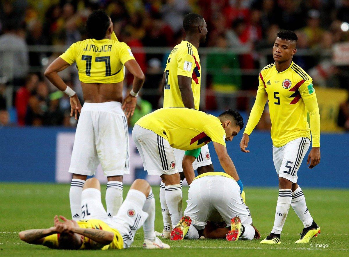 Devastation. 💔  #COL #COLENG #WorldCup