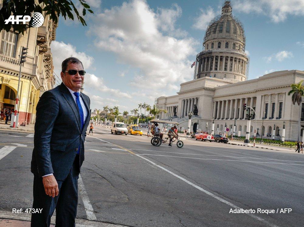 #ÚLTIMAHORA La Justicia de Ecuador dicta orden de prisión contra el expresidente Rafael Correa #AFP