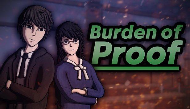 Games - Burden of Proof - A 3D Courtroom Drama/Visual Novel