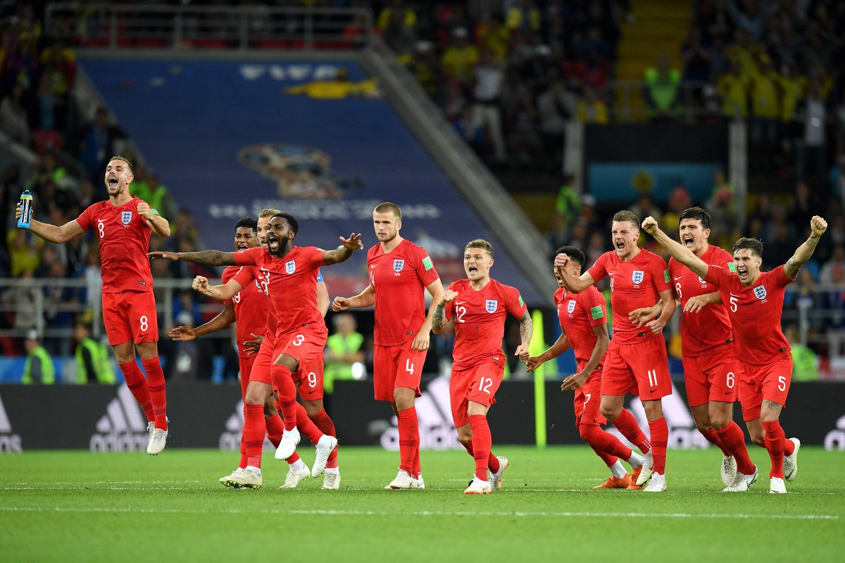 Love this photo of Pickford's save. Dier's face - he knows what he has to do! #ENGCOL