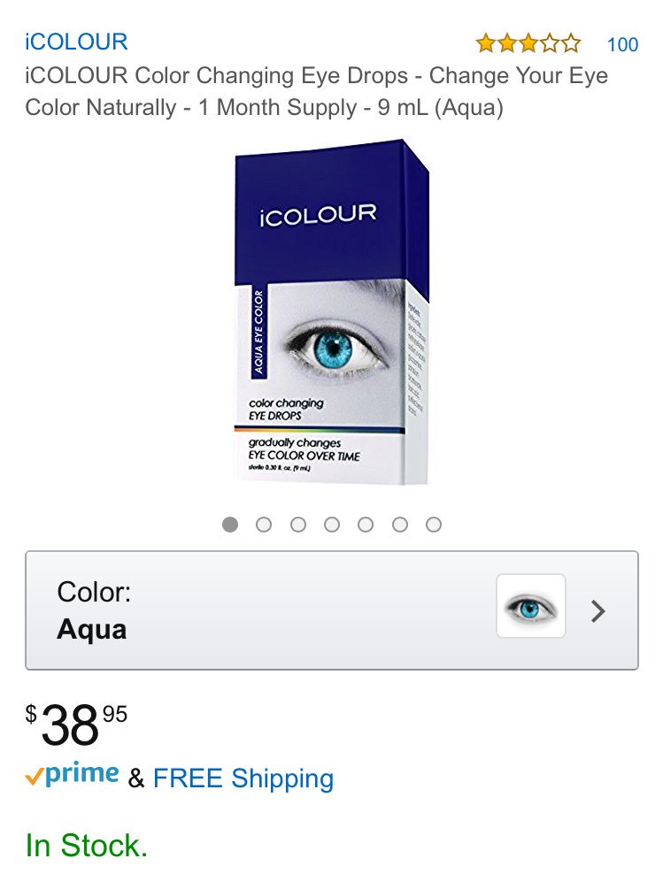 Dr Glaucomflecken On Twitter There S Icolour Eyedrops That