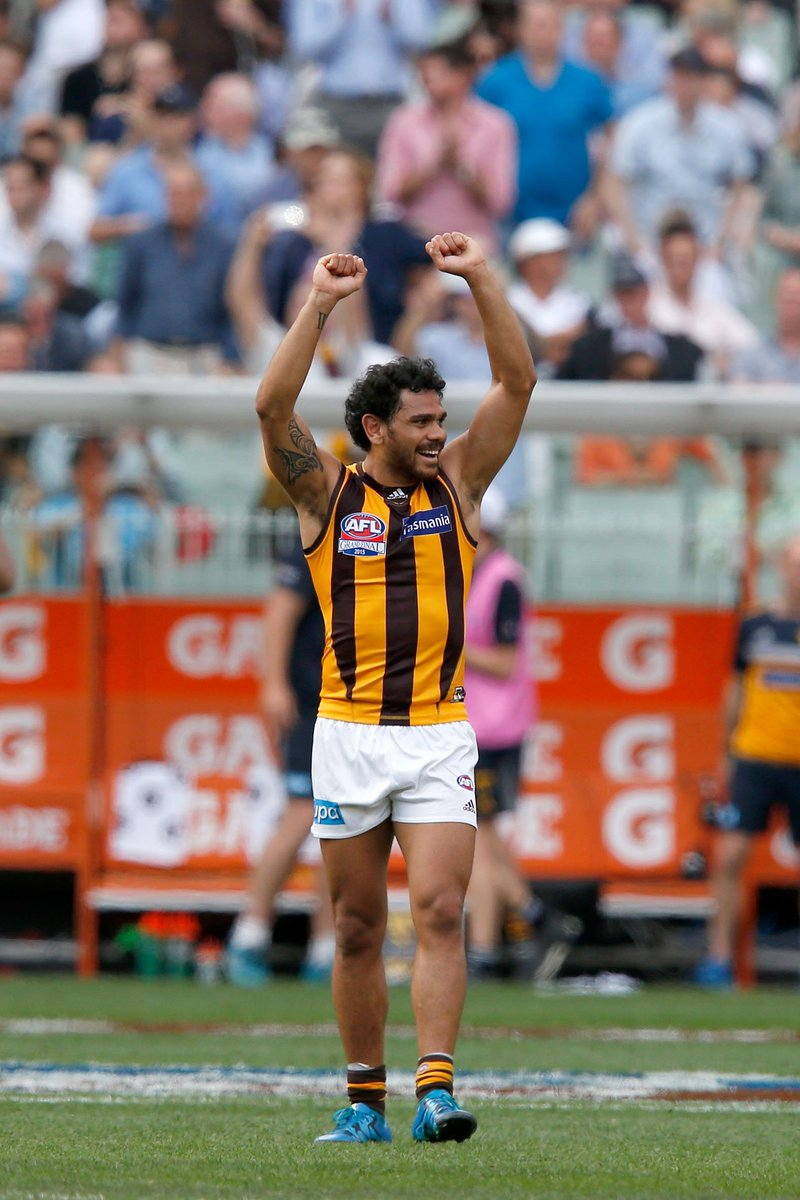 Cyril Rioli has retired.  -189 games -275 goals -4 premierships -2015 Norm Smith medalist -3 All Australians  Congratulations on an amazing career, legend. 🏆