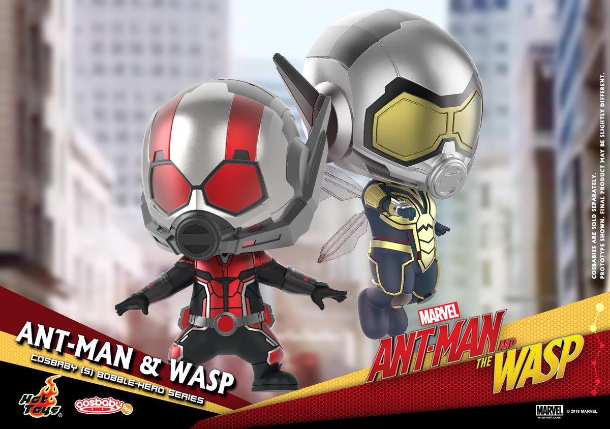 Hot Toys COSBABY Avengers Fin de partie Artisanat 567 Ant-Man