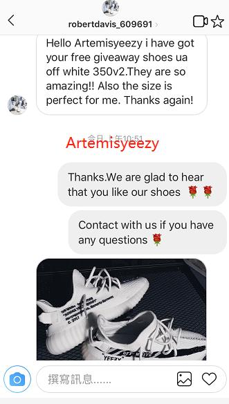 3fae20ac17e6f Feedback from Giveaway yeezy boost 350 v2 off white - Artemisyeezy Shop  Here http
