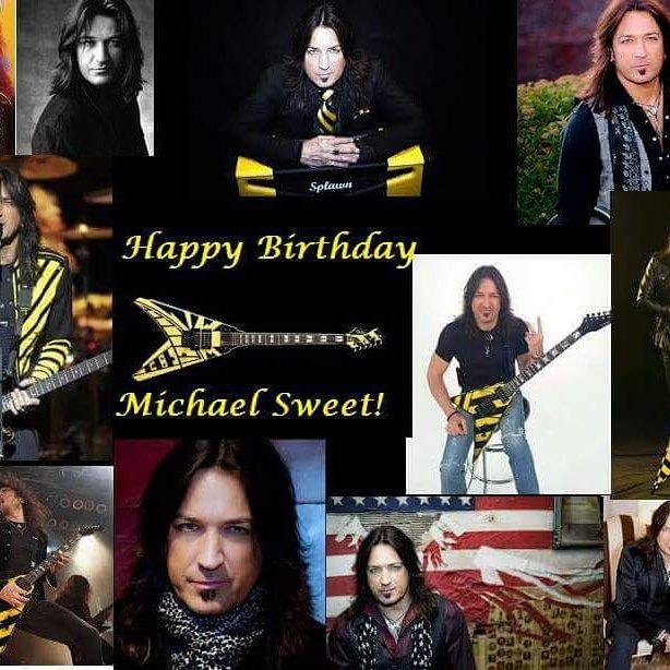 Happy Birthday to (Michael Sweet)!