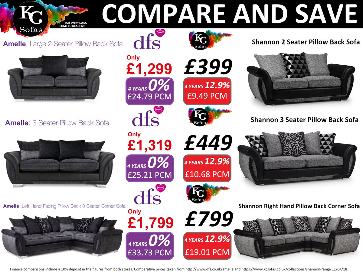 kc sofas on twitter compare save with kc sofas we price check