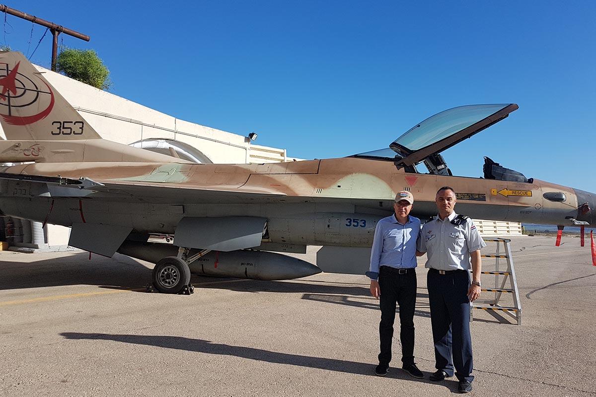 كرواتيا مهتمه بشراء مقاتلات F-16 مستعمله من اسرائيل  DhPkKtsX0AAcLQI