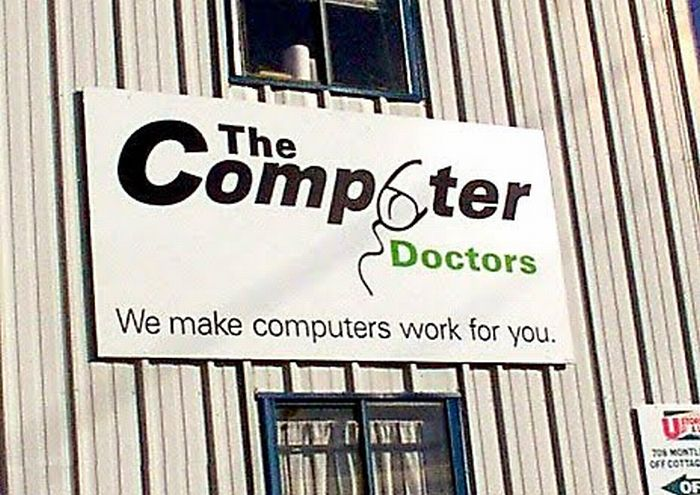 #MastersOfLOGOS  V2    THE COMPUTER DOCTORS   UK  #Logo #Diseño #Fail #EtFelicitoFill #Disseny #MastersOfNaming <br>http://pic.twitter.com/0RPQhVGEcC