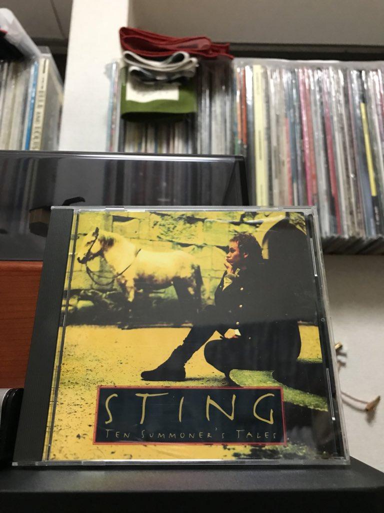 なうぷれ。  映画 レオンの タイトルが曲入っているスティングのアルバム。