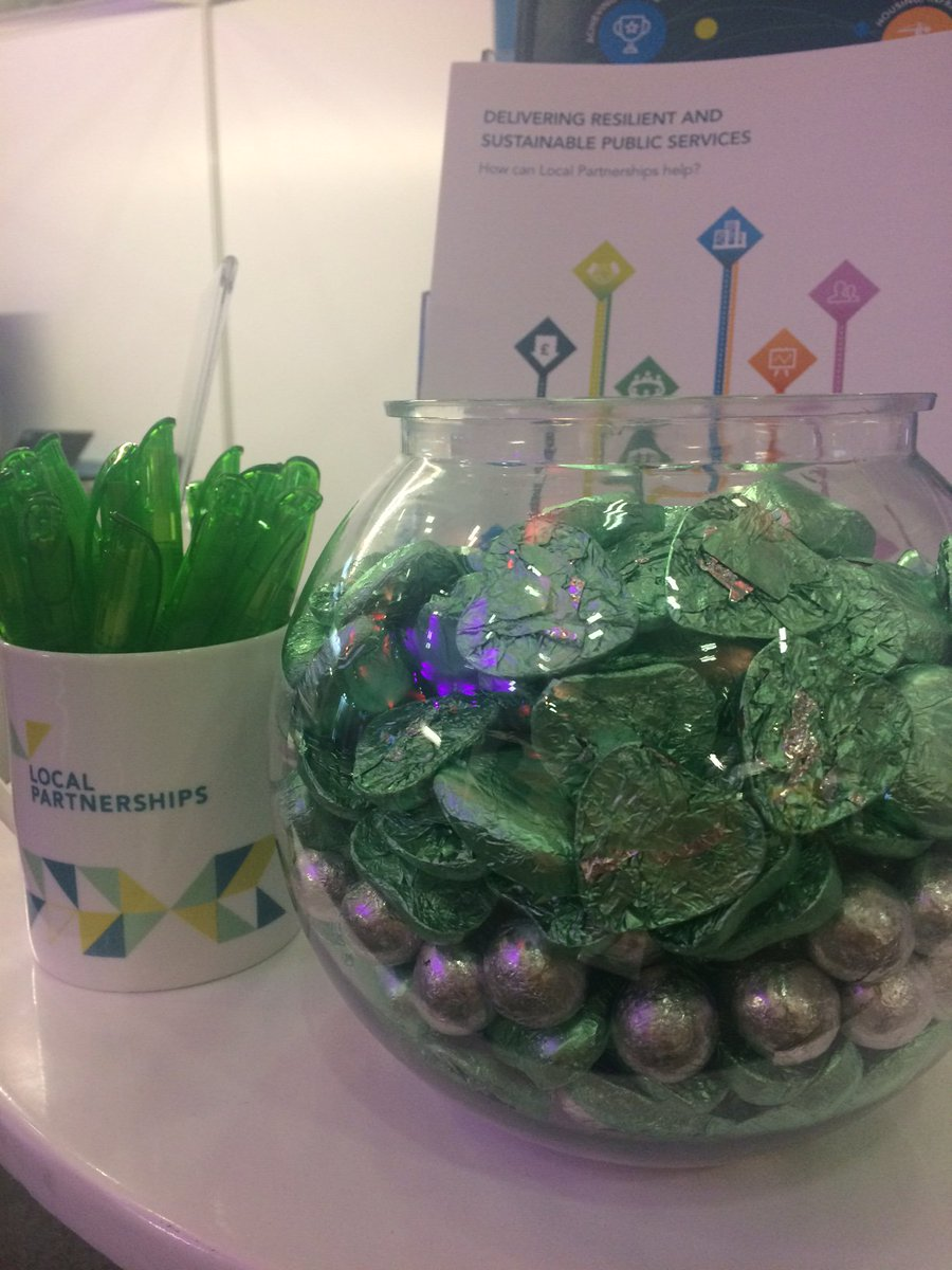 Visit @LP_localgov at stand C9 to get some #sugar for day two of #LGAconf18!